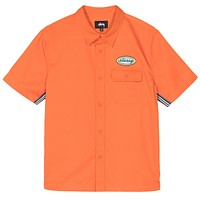 Side Taped Garage Shirt in Orange