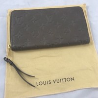 LOUIS VUITTON EMPREINTE ZIPPY WALLET - AUTHENTIC