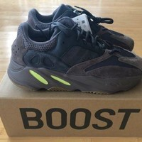 """Adidas Yeezy Boost 700 """"Mauve"""" Wave Runner Brand New 100% Authentic Size 12"""