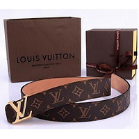 Louis Vuitton Genuine Leather Belt