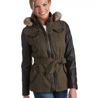 40% Off All Coats   40% Off All Coats   Belted Hooded Jacket   Lord and Taylor
