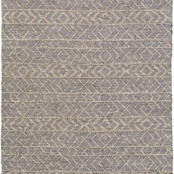 Ingrid Solids and Tonals Area Rug Blue