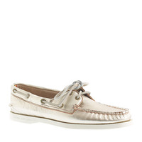 Sperry Top-Sider For J.Crew Authentic Original 2-Eye Metallic Boat Shoes