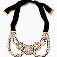 luminous statement bib necklace | Kate Spade New York