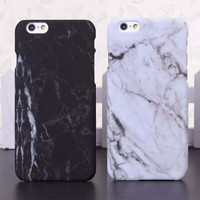 i5/i6/6P Fashion Phone Cases For iPhone 5 Case Marble Stone image Painted Cover For iphone5 5S 6 6S Plus New Screen Protector+ Free Gift Box