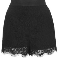 Lace Shorts - Black