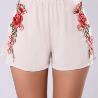 Addy Rose Shorts - Nude