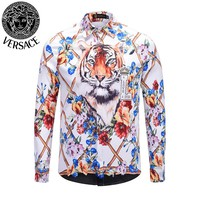 Versace new men's POLO shirt T-shirt