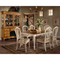 4508DTBRCTCSC 7-Piece Rectangle Dining Set w/Side Chairs