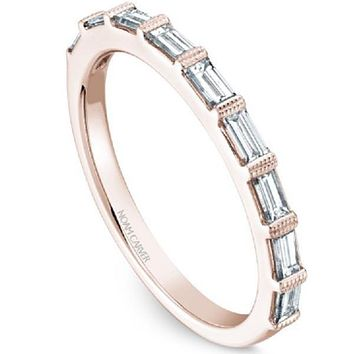 Noam Carver Baguette Cut Diamond Wedding Ring