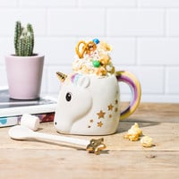 Magical Unicorn Mug and Wand | FIREBOX
