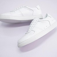 Common Projects Bball Leather Low Sneakers - Best Deal Online
