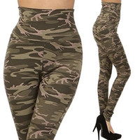 High Waist Camouflage Pants  from Milly Kate