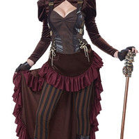 Victorian Steampunk Hottie Costume