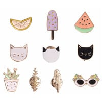 XO Assorted Pastel Pins