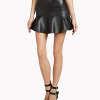 Beatrix Leather Skirt - Leather Skirts Women - Dsquared2 Online Store