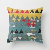 xmas n2 Throw Pillow by SpinL