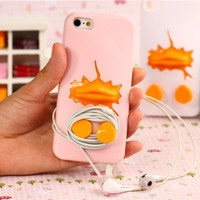 MagicPieces Break the Eggshell Case for iPhone 4/4S Pink
