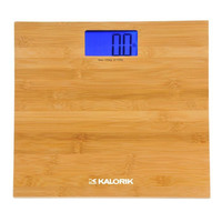 Kalorik Digital Bamboo Bathroom Scale
