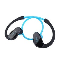 GoldMice Wireless Bluetooth V4.0+EDR Headset Mini Stereo Headphone with Acoustic Control (Blue)