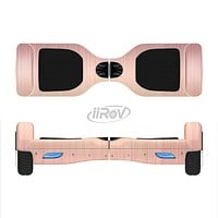 The Rose Gold Brushed Surface Full-Body Skin Set for the Smart Drifting SuperCharged iiRov HoverBoard