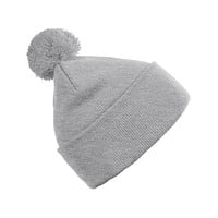 PREMIUM Stretchy Fold Up Pom Pom Knit Beanie Cap (CLEARANCE)