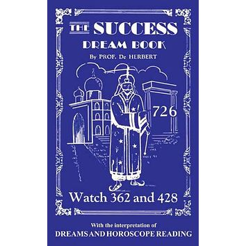 The Success Dream Book, by Prof. de Herbert