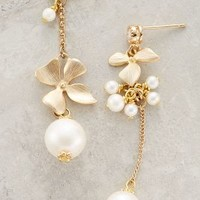 Asymmetry Mismatched Drops by Anthropologie Pearl All Earrings