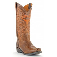 Gameday Boots Mens Leather University Of Texas Board Room Cowboy Boots