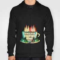 Adventure is Calling You Hoody by Famenxt