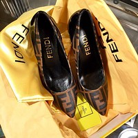 Fendi Beautiful Fashion Sandals And High Heels-5