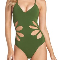 Robin Piccone Ava One-Piece Swimsuit   Nordstrom