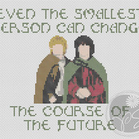 Lord of the Rings Hobbits Quote (Printable PDF Pattern)