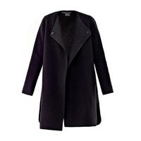 Vince Two-tone wool coat