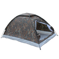 200*140*110cm Outdoor Portable Single Layer Camping Tents