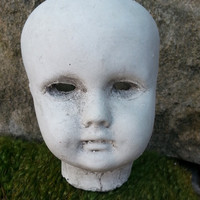 Creepy Doll Head Planter