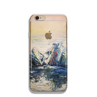 Mountain iPhone 6 Case Clear Mountain iPhone 6s Case Clear iPhone 6 Case iPhone 5s Case iPhone 6s Plus Case Soft Silicone iPhone Case No: 86