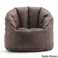 BeanSack Big Joe Milano Faux Leather Bean Bag Chair