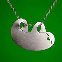 Happy Sloth Necklace