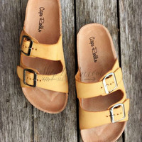 NO BOUNDARIES SANDALS