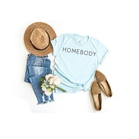 Blue Homebody T-Shirt