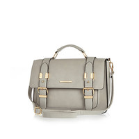 River Island Womens Grey large satchel