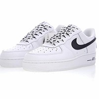 nba x nike air force 1 af1 nba white black 823511 405