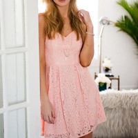 Kennedy Sweetheart Lace Dress