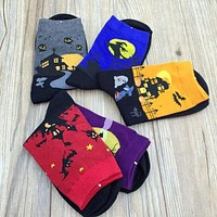 Halloween Themed Socks-More Bang For Your Buck