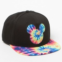 Neff - Disney Tie-Dye Mickey Prime Snapback Hat - Mens Backpack - Black - One