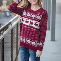 Prepped for Christmas Sweater – Brooklynn's