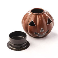 Small Jack O' Lantern Candle Holder - Fall and Halloween Sale - Fall and Halloween - Holiday Crafts