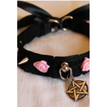 Pentagram Collar - Kitten's Playpen