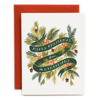 Rifle Paper Co. - PERSONALIZED Winter Foliage Cards